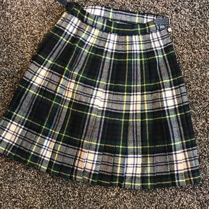 Other - Laird-Porch Pure Wool Plaid Skirt